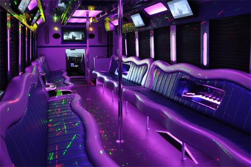 42 passenger party bus long island